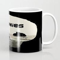 goonies Mugs featuring THE GOONIES by Rocky Rock