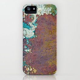 Paint mosaic iPhone Case
