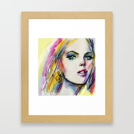 Summertime sadness Framed Art Print