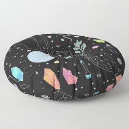 Crystal Witch Starter Kit - Illustration Floor Pillow