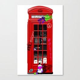 British Telephone Box Canvas Print