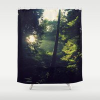 spiritual Shower Curtains featuring Spiritual by LilyMichael Photography