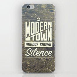 The Modern Town iPhone Skin
