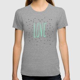 Love dot com — mint T-shirt
