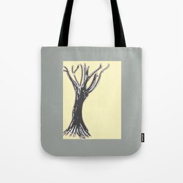 unblinking tree Tote Bag
