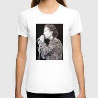 eddie vedder T-shirts featuring Eddie Vedder - Pearl Jam by whiterabbitart