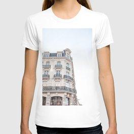 Parisian Building Paris France Photo Art Print | Europe Street Architecture Travel Photography T-shirt