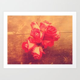 they call me the wild rose Art Print