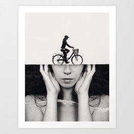 Sightseeing Art Print