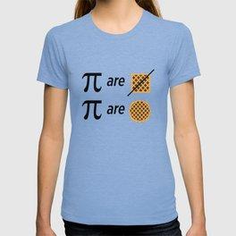 Mike Montgomery's Pi Joke T-shirt