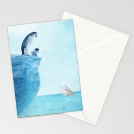 Penguins Stationery Cards