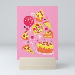 Pizza Party Mini Art Print