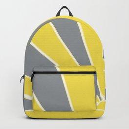 Illuminating Ultimate Gray Retro Summer Sun Glam #1 #wall #art #society6 Backpack
