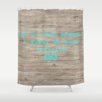 infinite Shower Curtains featuring Infinite by AliceAttack