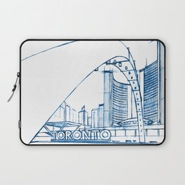BluePrints | City Hall - Toronto Laptop Sleeve