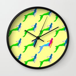 A different Mermaid Wall Clock