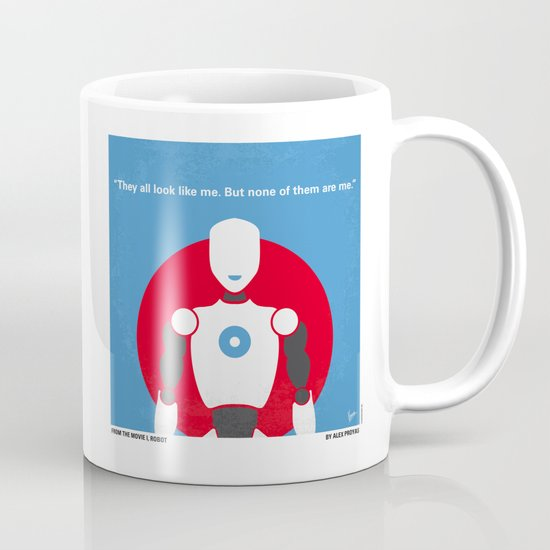 No275 My I ROBOT minimal movie poster Mug