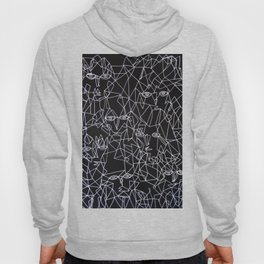 Tracing Faces  Hoody