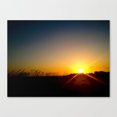 That Kind Of Night Canvas Print