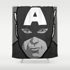 The secret life of heroes - Photobooth2-1 Shower Curtain