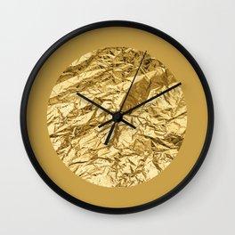 GOD, GOLD! Wall Clock