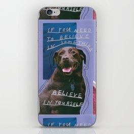 dog knows best iPhone Skin
