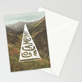 Go Camping Stationery Cards