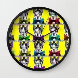 Dapper Dog Wall Clock
