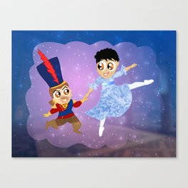 The Nutcracker Ballet. Cassandra and Varric Canvas Print