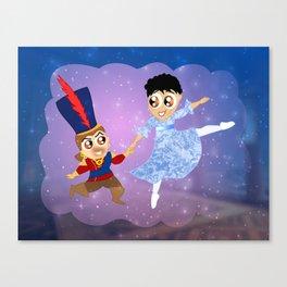 The Nutcracker Ballet. Cassandra and Varric Canvas Print