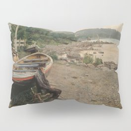 Hans Heyerdahl - View from Åsgårdstrand Pillow Sham