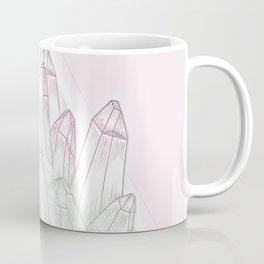 Crystals - Pink Coffee Mug