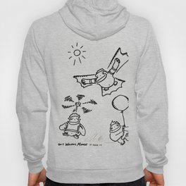 Aviation Apes Flutter, Fly, and Float Hoody