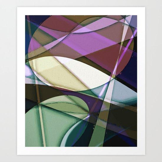Abstract #368 Art Print