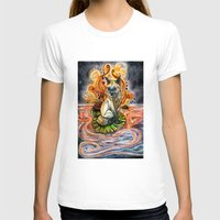 kitsune T-shirts featuring Lily Kitsune by Care Halverson