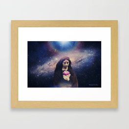 The Mother of the Universe Framed Art Print