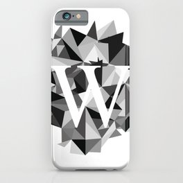 W for iPhone Case