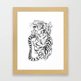 sĕua Framed Art Print