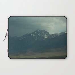 Stormy Mountains (Sierra Nevadas, California) Laptop Sleeve
