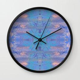 Jungle Invert Mirrored Wall Clock