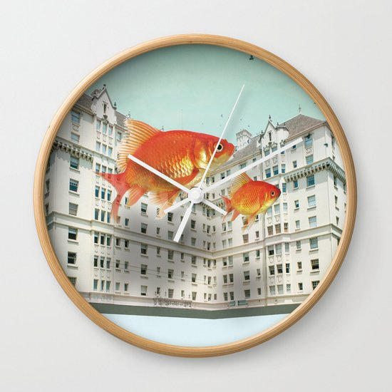 afloat Wall Clock