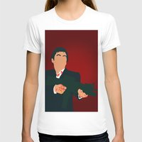 scarface T-shirts featuring Scarface by Tom Storrer