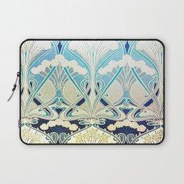 silver art nouveau Laptop Sleeve