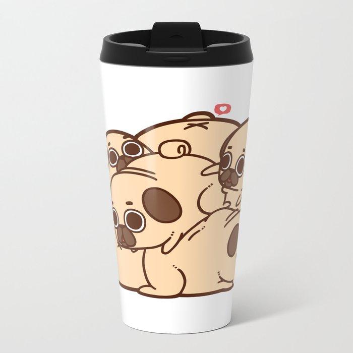 Puglie Grumblie Metal Travel Mug