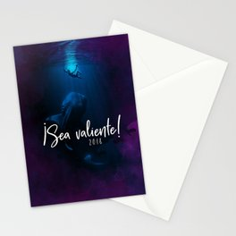 ¡Sea valiente! (Jonah and the Big Fish) Stationery Cards