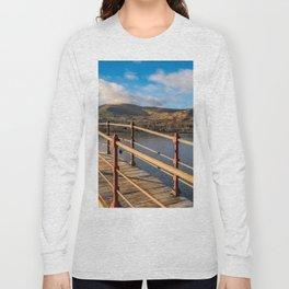 Padarn Lake Footbridge Long Sleeve T-shirt