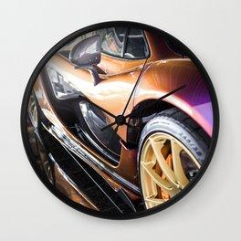 McLaren P1 - Cerberus Pearl - Side Detail Wall Clock