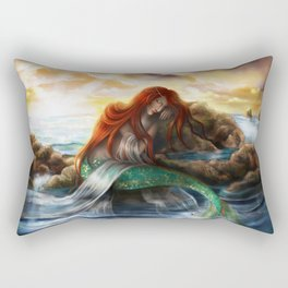 Sleeping Siren Rectangular Pillow