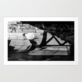 Burnside Skate Park Art Print