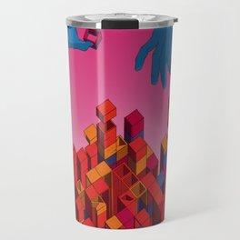 Solution for Blocks Travel Mug